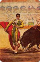 spof017451 - El Pendulo de Jorge, El Rancher Tarjeta Postal Bullfighting