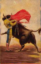 spof017454 - Caletilla Bull Ring, Humberto Moro Tarjeta Postal Bullfighting