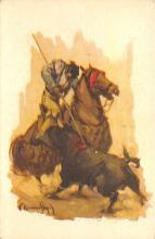 spof017455 - Un Ben Puyazo Tarjeta Postal Bullfighting
