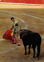 spof017464 - Toros, Cita with the right Tarjeta Postal Bullfighting