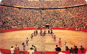 spof017476 - El Paseo de las Quadrillas Tarjeta Postal Bullfighting
