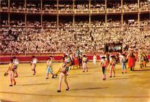 spof017493 - El Paseillo, March of the Bullfighters Tarjeta Postal Bullfighting