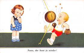 spof017494 - Nanu, der haut ja wieder Tarjeta Postal Boxing Postcard