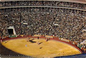 spof017506 - Interior Plaza de Toros en dia de corrida, Bull Ring Postcard