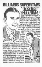 spof018208 - Ralph Greenleaf Pool Billiards Postcard Carte Postale