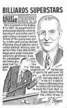 spof018209 - Willie Hoppe Pool Billiards Postcard Carte Postale