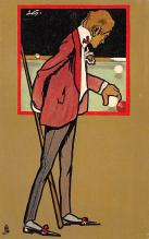 spof018243 - Pool Pool Billiards Postcard Carte Postale