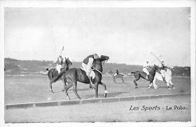 spof019010 - Les spofrts Polo Postcard