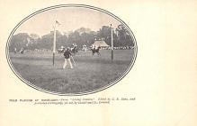 spof019027 - Ranelagh Polo Club Barn Elms, south west London, England. Polo Postcard