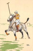 spof019049 - Artist Le Pallie Non Postcard Backing Polo