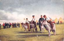 spof019051 - A Game of Polo on Donkeys Polo