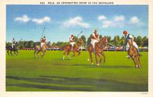 spof019062 - Polo an interesting spofrt in the Southland Polo