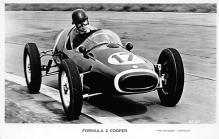 spof020017 - Formula 2 Cooper Auto Race Car, Racing Postcard