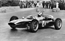 spof020021 - Cooper Climax Auto Race Car, Racing Postcard