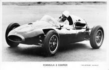 spof020036 - Formula 2 cooper Auto Race Car, Racing Postcard