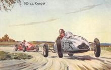 spof020055 - Cooper Auto Race Car, Racing Postcard