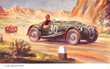 spof020056 - Frazer Nash Auto Race Car, Racing Postcard