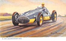 spof020059 - Litre Unsupercharged Osca Auto Race Car, Racing Postcard
