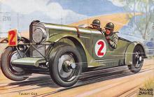 spof020060 - Talbot Car by Roland Davies Auto Race Car, Racing Postcard