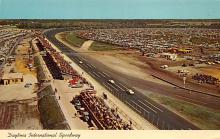 spof020113 - Daytona Speedway Auto Race Car, Racing Postcard