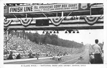 spof020125 - National Soap Box Derby, Akron, Ohio, USA Auto Race Car, Racing Postcard