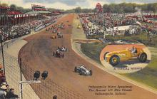 spof020126 - Indianapolis, Indiana, USA Auto Race Car, Racing Postcard