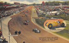 spof020136 - Indianapolis, Indiana, USA Auto Race Car, Racing Postcard
