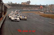 spof020147 - Daytona Beach, Florida USA Auto Race Car, Racing Postcard