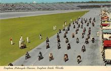 spof020150 - Motorcycle Classic, Daytona Beach, Florida, USA Auto Race Car, Racing Postcard