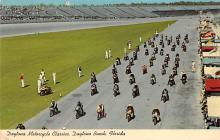 spof020151 - Motorcycle Classic, Daytona Beach, Florida, USA Auto Race Car, Racing Postcard