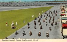 spof020152 - Motorcycle Classic, Daytona Beach, Florida, USA Auto Race Car, Racing Postcard