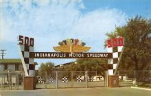 spof020181 - Indianapolis Motor Speedway, Indianna, USA Auto Race Car, Racing Postcard