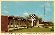 spof020194 - Indianapolis motro Museum, Indianna, USA Auto Race Car, Racing Postcard