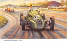 spof020206 - 2 Litre Unsupercharged H.W.M. Auto Race Car, Racing Postcard