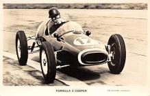 spof020218 - Formula 2 Cooper Auto Race Car, Racing Postcard