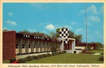 spof020220 - Indiana Motor Speedway Museum, Indiana, USA Auto Race Car, Racing Postcard