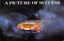 spof020225 - Russell Brookes/ Mike Broad, Opel Manta 400 Auto Race Car, Racing Postcard