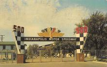 spof020649 - Main Gate, Indianapolis Motor Speedway Auto Racing, Race Car
