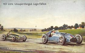 spof020668 - Litre Unsupercharges Lago Talbot Auto Racing, Race Car