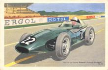 spof020730 - Voiture de course Vanwall Auto Racing, Race Car