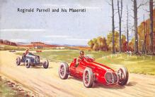 spof020743 - Reginald Parnell and his Maserati Auto Racing, Race Car