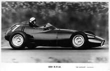 spof020745 - 1959 BRM, Jakim Bonnier Winning the 1959 Dutch Grand Prix Auto Racing, Race Car
