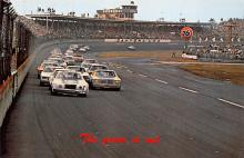 spof020759 - Green Flag, Daytona International Speeway Auto Race Car, Racing Postcard