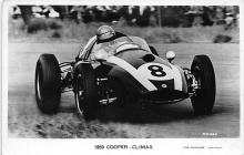 spof020763 - 1959 Cooper Climax Auto Race Car, Racing Postcard
