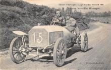 spof020769 - Circuit d'Auvergne Coupe Gordon Bennett 1905 Auto Race Car, Racing Postcard