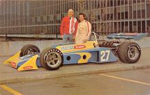 spof020772 - Bryant Air Conditioning Compay, USAC driver Tom Bigelow 1973 Auto Race Car, Racing Postcard