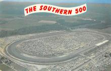 spof020773 - The Southern 500 Auto Race Car, Racing Postcard