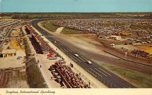 spof020779 - Daytona International Speeway Auto Race Car, Racing Postcard
