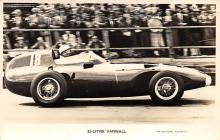 spof020781 - Litre Vanwall, British Grand Prix at Aintree in July 1957 Auto Race Car, Racing Postcard