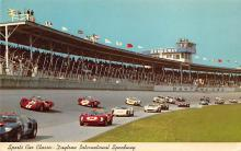 spof020786 - spofrts Car Classic, Daytona International Speeway Auto Race Car, Racing Postcard